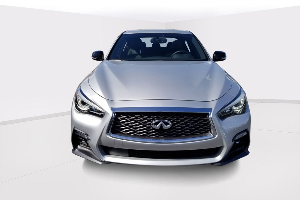 New 2019 Infiniti Q50 Red Sport 400 Sedan In Fort Lauderdale