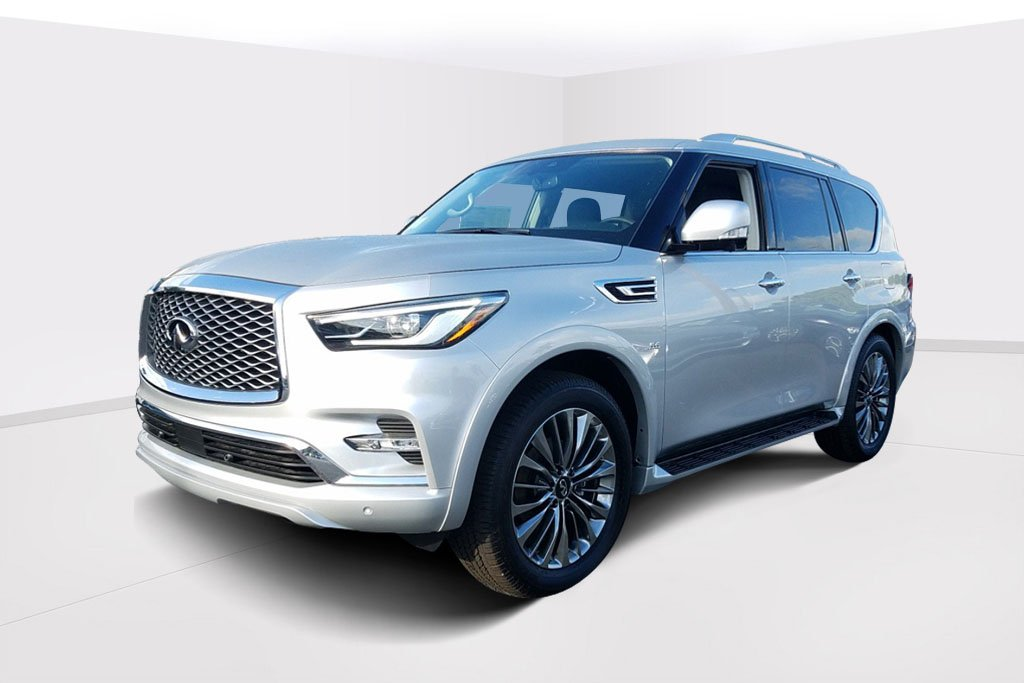 New 2019 Infiniti Qx80 Luxe 2wd Suv In Fort Lauderdale K9683684