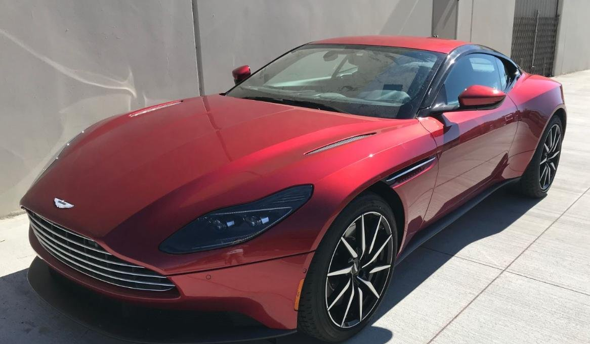 pre-owned 2018 aston martin db11 v8 2dr car in fort lauderdale