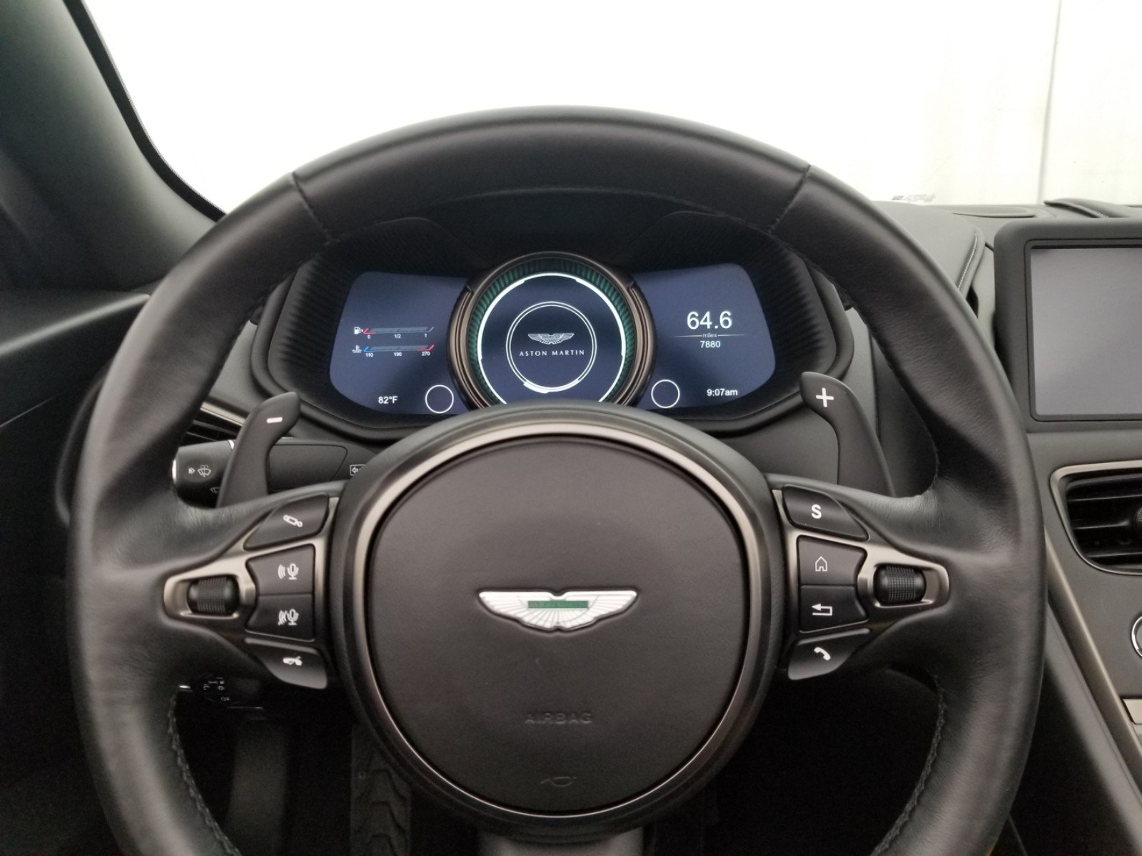 Pre Owned 2019 Aston Martin DB11 Volante Convertible in Fort
