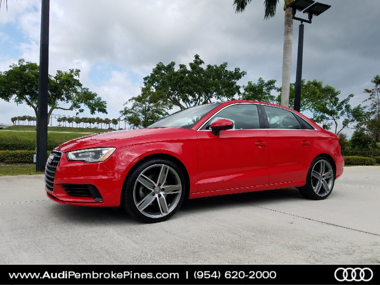 Pre Owned 2015 Audi A3 2 0T Premium Plus 4dr Car in Fort Lauderdale