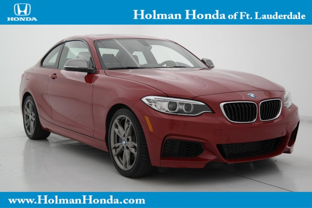 Pre Owned 2015 Bmw 2 Series M235i 2dr Car In Fort Lauderdale