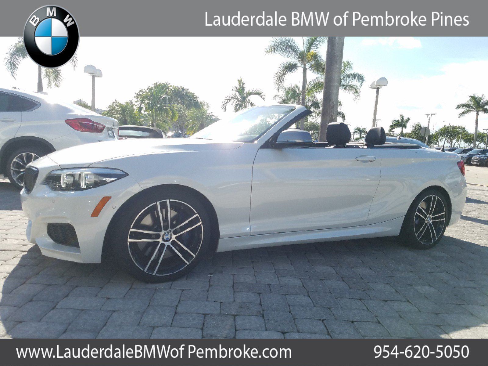 Pre Owned 2018 BMW M240i Convertible Convertible in Fort Lauderdale