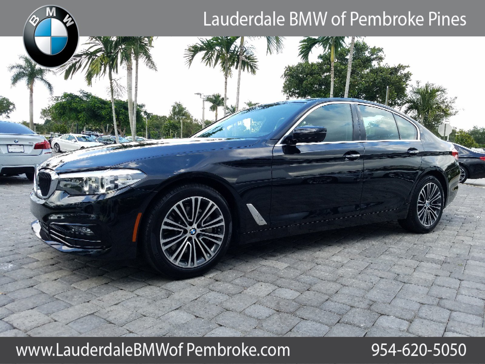 Pre-Owned 2018 BMW 5 Series 4dr Car