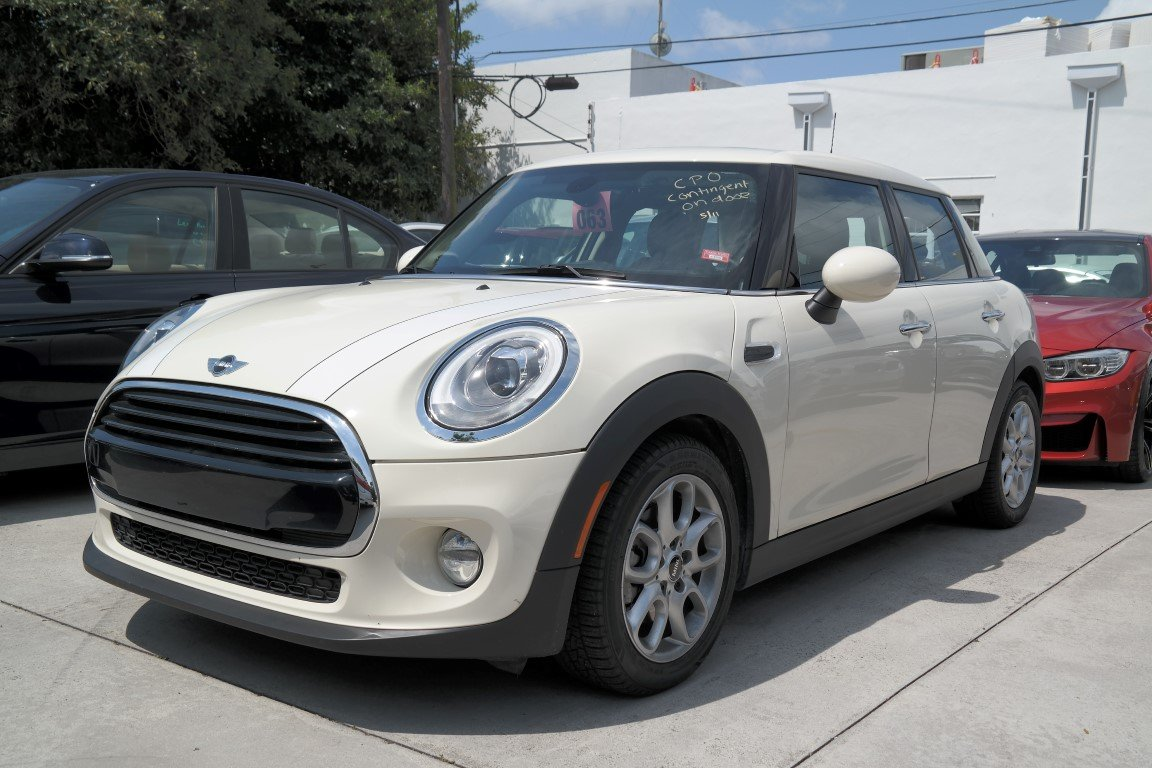 Pre Owned 2016 Mini Cooper Hardtop 4 Door Hatchback In Fort