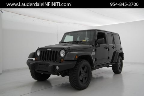 Pre-Owned 2012 Jeep Wrangler Unlimited Call of Duty MW3