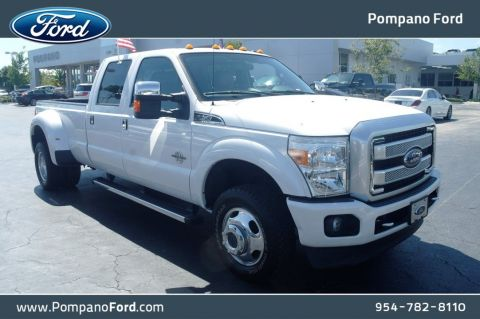 Pre-Owned 2016 Ford Super Duty F-350 DRW Platinum