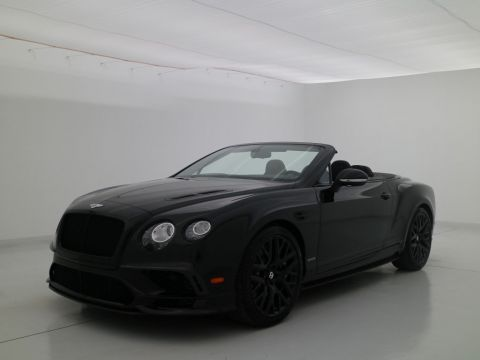 Pre-Owned 2018 Bentley Continental GT Supersports