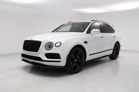 Pre-Owned 2019 Bentley Bentayga V8 Black Specification